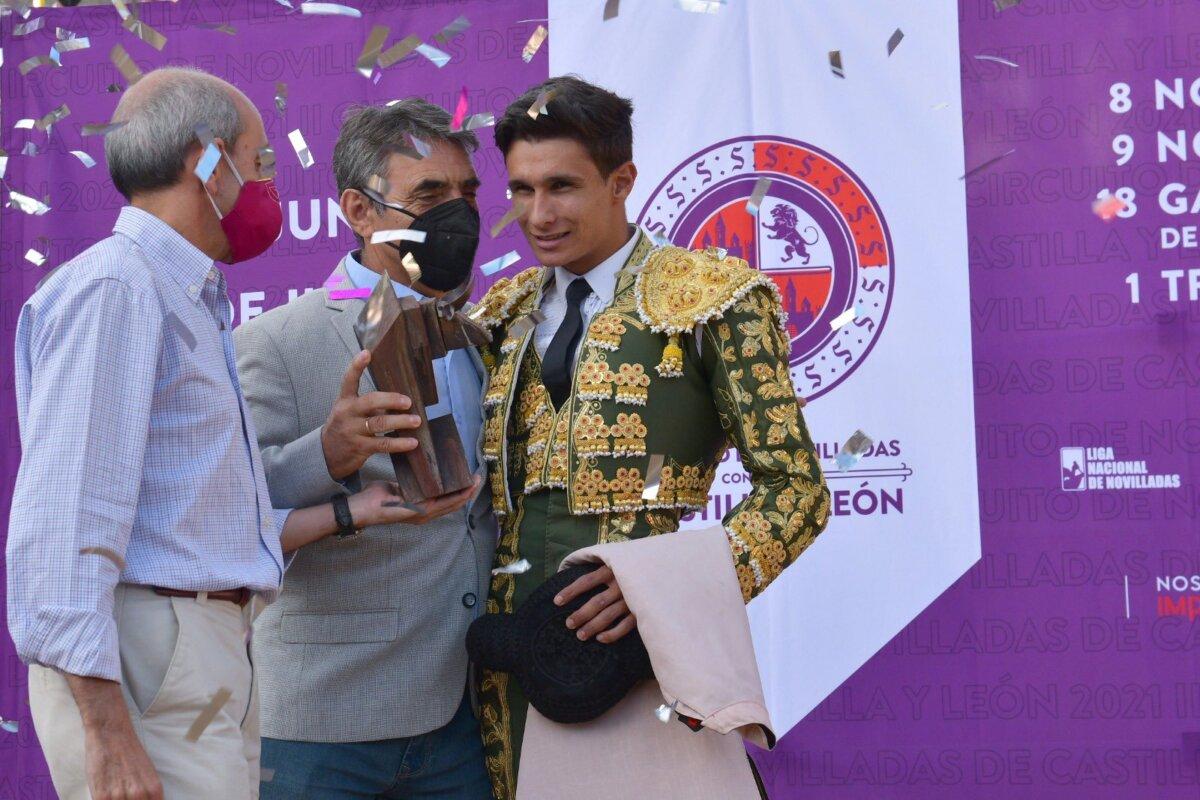 Manuel Diosleguarde, proclamado vencedor del circuito de Castilla y León
