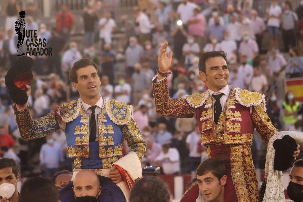 Pinar, Serrano y Victorino, valientes, toreros y exigentes