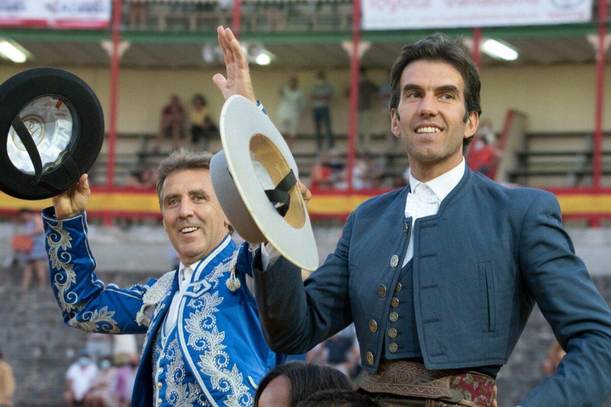 Sergio Galán arrasa y Pablo Hermoso de Mendoza se entrega a la gran corrida de Fermín Bohórquez