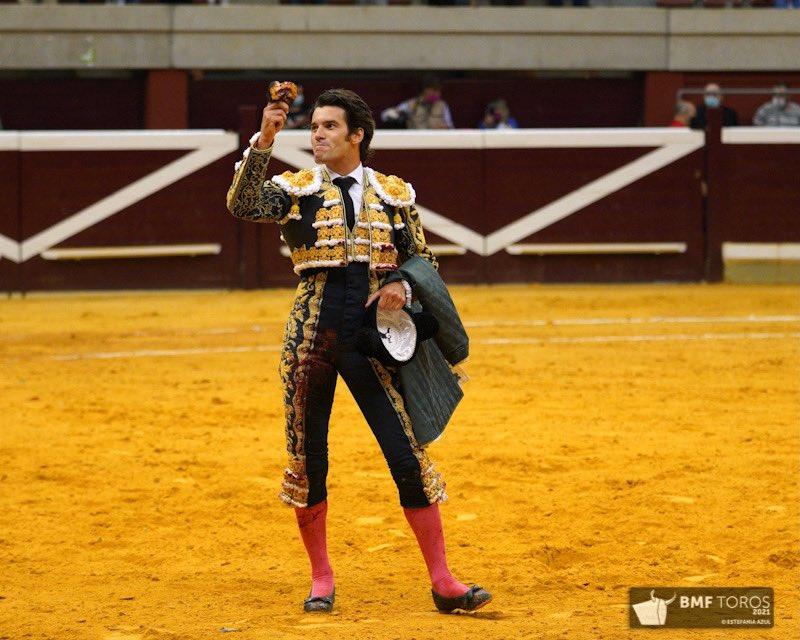 José Garrido, única oreja en el cierre de Logroño