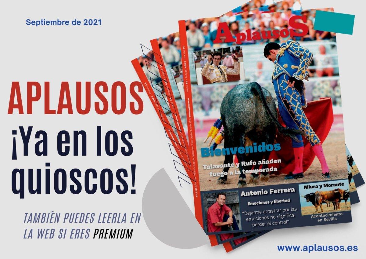 Antonio Ferrera, protagonista este mes de la edición impresa de Aplausos