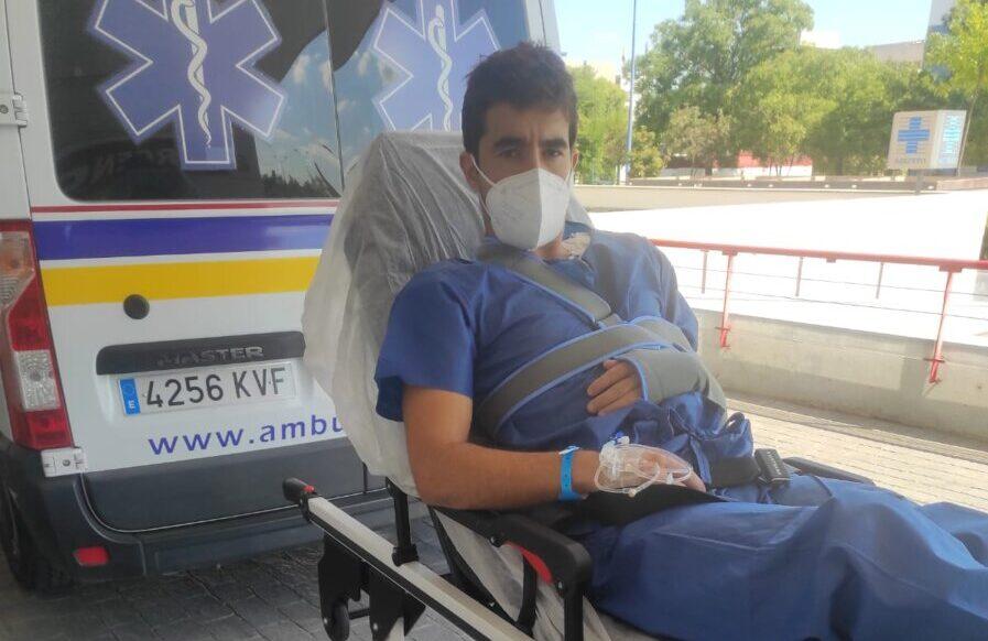 Cristóbal Reyes, intervenido de una lesión producida el día de su alternativa