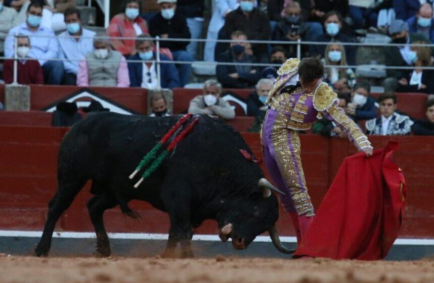 Alejandro Marcos, galardonado con la mejor faena de la feria de Salamanca