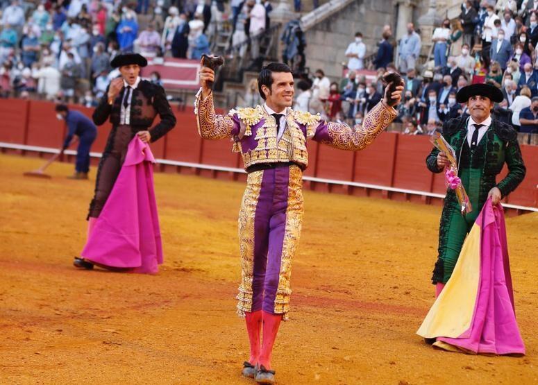 """Emilio de Justo: """"Cortar dos orejas a un toro en Sevilla es un sueño que uno tiene desde niño"""""""