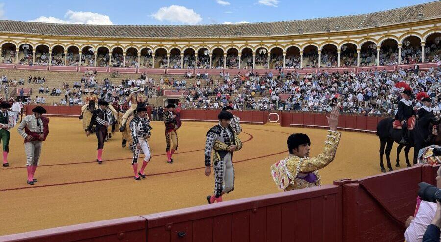 El buen concepto de Emilio de Justo ante el segundo en Sevilla