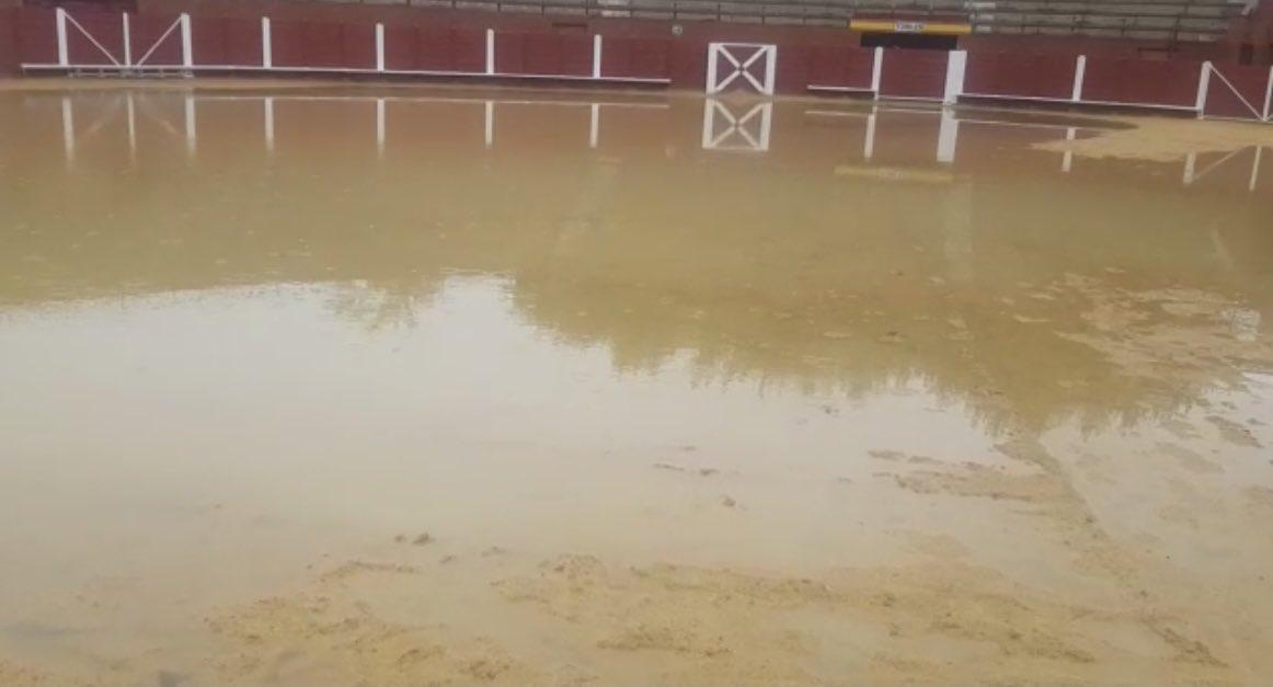 Aplazado por lluvia el festejo de rejones de Tordesillas