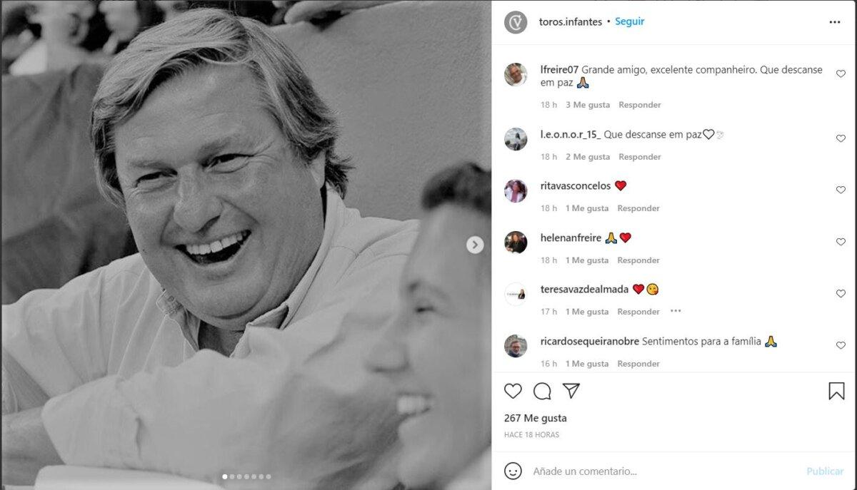 Fallece el ganadero José Infante da Câmara